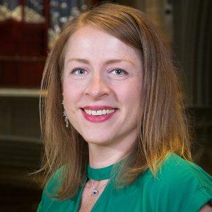 Amanda Renée Mole, Organist and Dr. Richard K. Fitzgerald, conductor